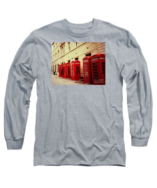 Telephone Booths Long Sleeve T-Shirt