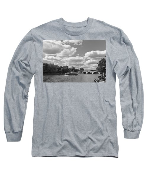 Long Sleeve T-Shirt featuring the photograph Thames River Cruise by Maj Seda