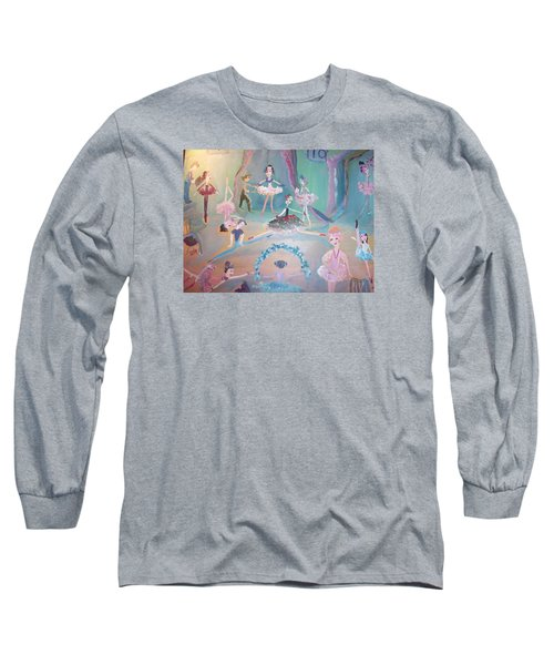 The Ballet Contest Long Sleeve T-Shirt by Judith Desrosiers
