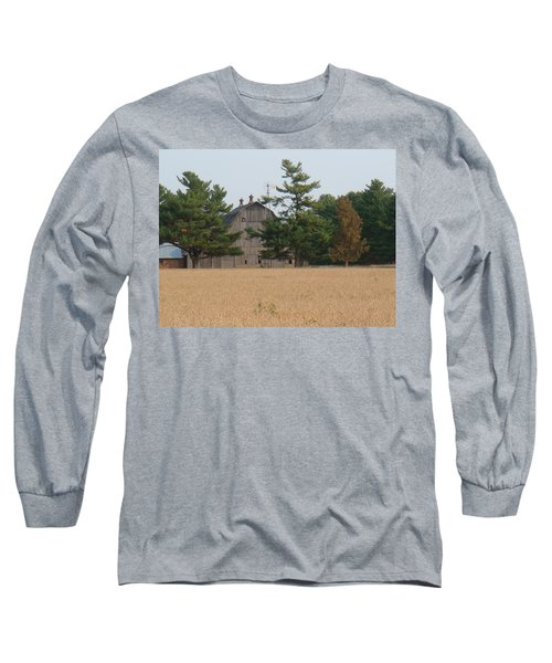 Long Sleeve T-Shirt featuring the photograph The Farm by Bonfire Photography