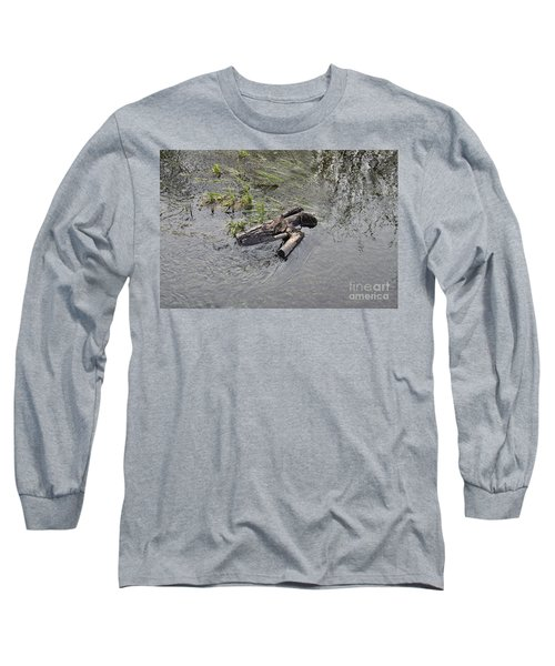 The Floating Island Long Sleeve T-Shirt