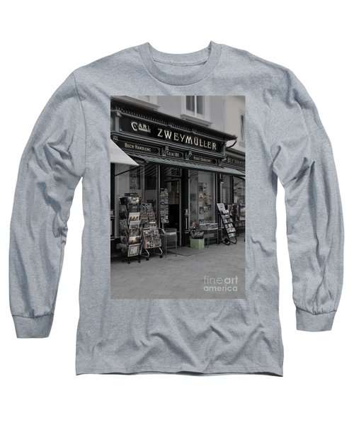 The Old Bookstore Long Sleeve T-Shirt