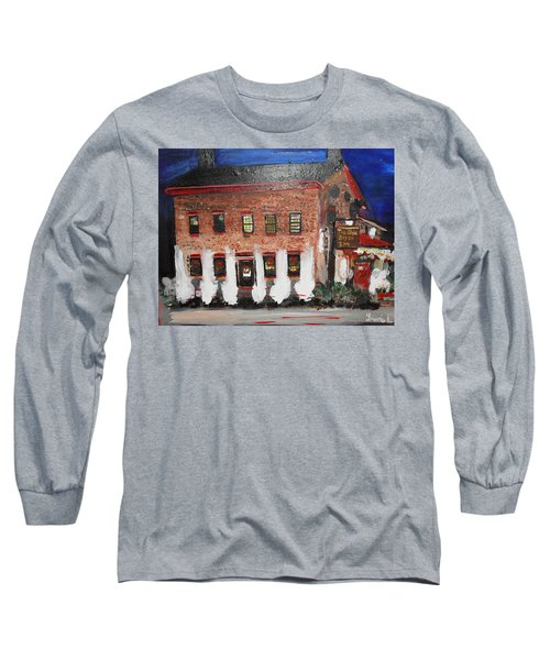 The Olde Bryan Inn Long Sleeve T-Shirt by Laurie L