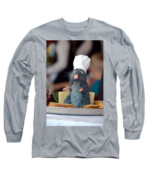 The Only Rat I Like Long Sleeve T-Shirt by Bonnie Myszka