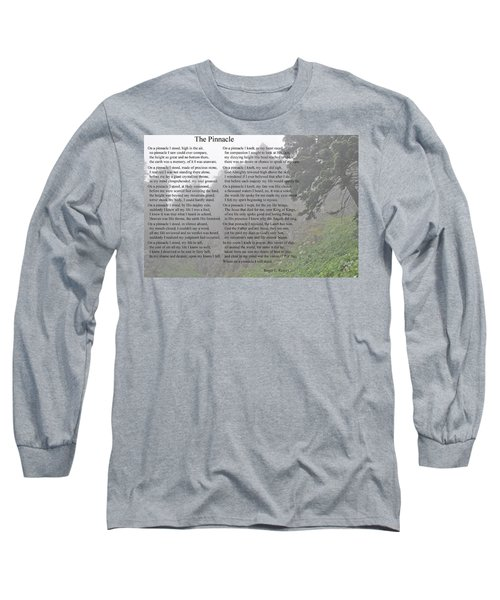 Long Sleeve T-Shirt featuring the photograph The Pinnacle by Tikvah's Hope