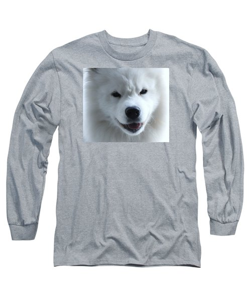 The Samoyed Long Sleeve T-Shirt by Lisa  DiFruscio
