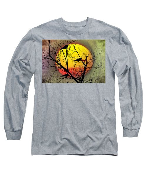 Three Blackbirds Long Sleeve T-Shirt