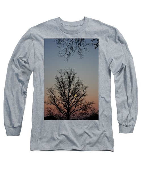 Through The Boughs Portrait Long Sleeve T-Shirt by Dan Stone