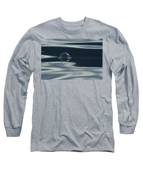 Through The Milky Way In My Spaceship Long Sleeve T-Shirt by Cathie Douglas