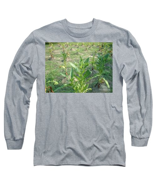 Long Sleeve T-Shirt featuring the photograph Tobacco Addiction by Mark Robbins