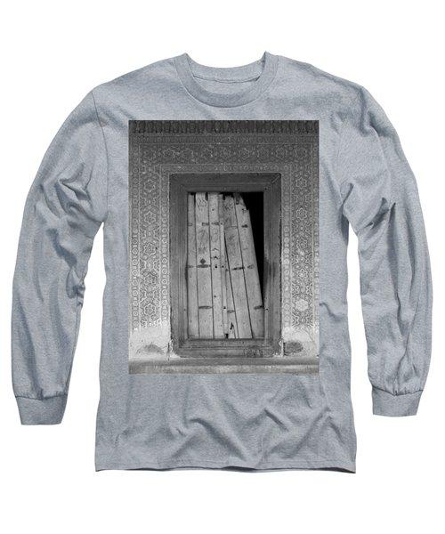 Long Sleeve T-Shirt featuring the photograph Tomb Door by David Pantuso