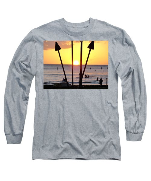 Torched Sunset Long Sleeve T-Shirt