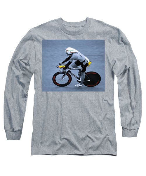 Triathlon Man Long Sleeve T-Shirt