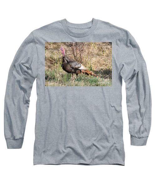 Turkey In The Straw Long Sleeve T-Shirt