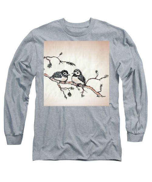 Two Birds Long Sleeve T-Shirt