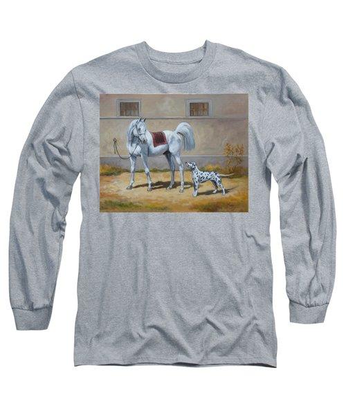 Two Buddies Long Sleeve T-Shirt