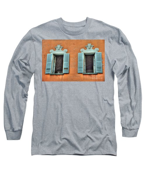 Two Windows Long Sleeve T-Shirt