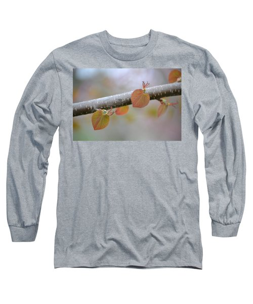 Long Sleeve T-Shirt featuring the photograph Unfurling Buds In The Heart Of Spring by JD Grimes