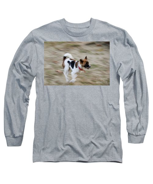 Long Sleeve T-Shirt featuring the photograph Unleashed by Fotosas Photography