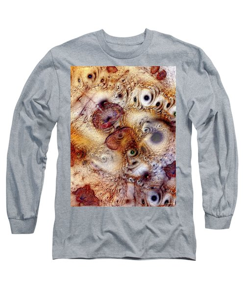 Long Sleeve T-Shirt featuring the digital art Unphased And Confused by Casey Kotas