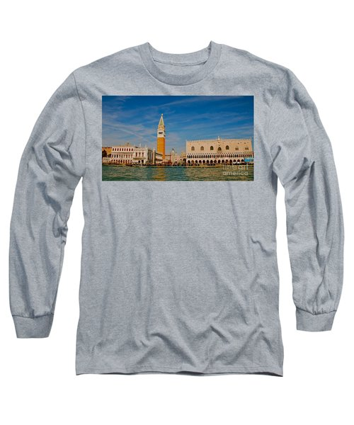 Long Sleeve T-Shirt featuring the photograph Venice's Front Door by Eric Tressler