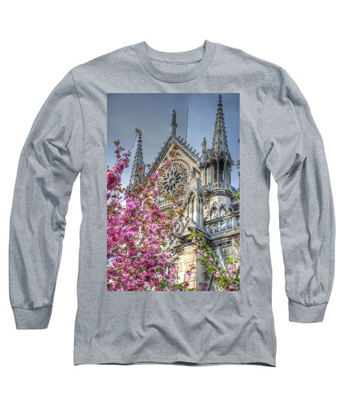 Vibrant Cathedral Long Sleeve T-Shirt