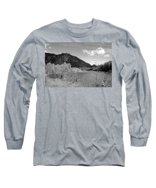 Long Sleeve T-Shirt featuring the photograph View From The River by Kathleen Grace