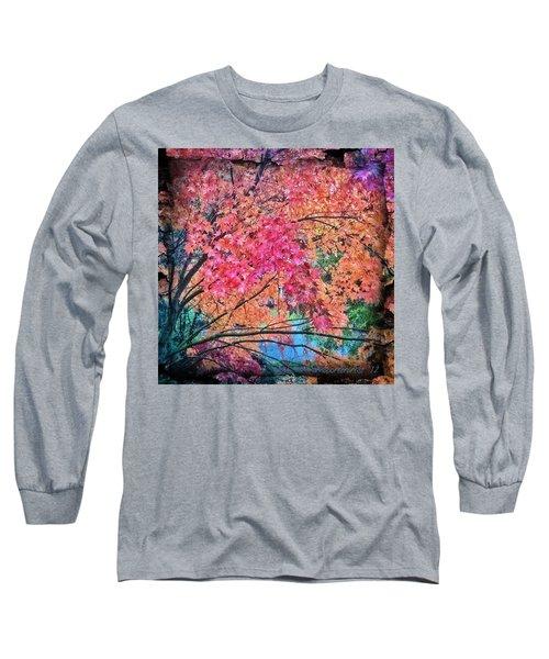 Vine Maple - Fall Color Long Sleeve T-Shirt