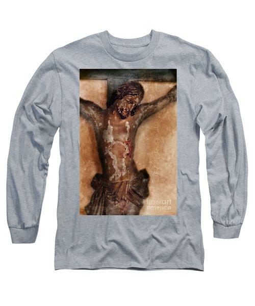 Vintage Crucifix Long Sleeve T-Shirt