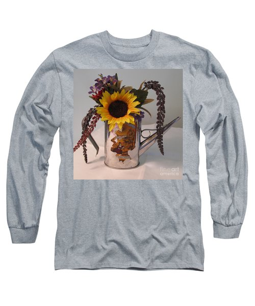 Long Sleeve T-Shirt featuring the photograph Virgin Olive Oil by Sandy McIntire