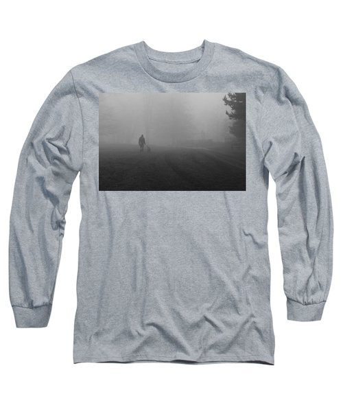 Walk The Dog Long Sleeve T-Shirt by Maj Seda