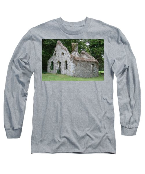 Long Sleeve T-Shirt featuring the photograph Walls For The Winds by Charlie and Norma Brock