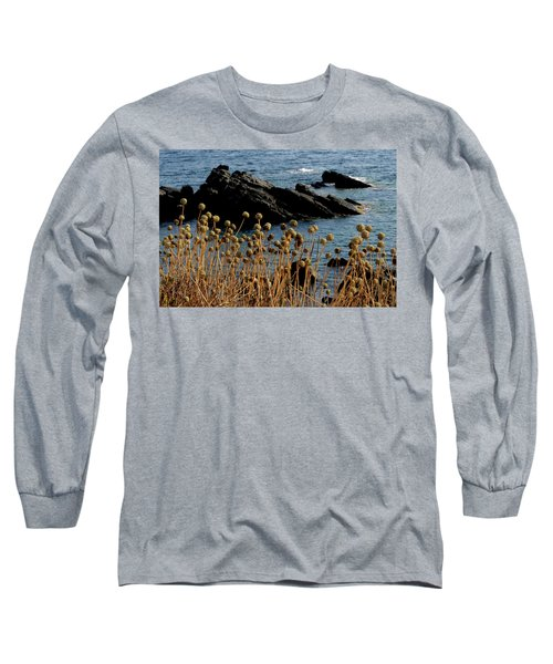Long Sleeve T-Shirt featuring the photograph Watching The Sea 1 by Pedro Cardona