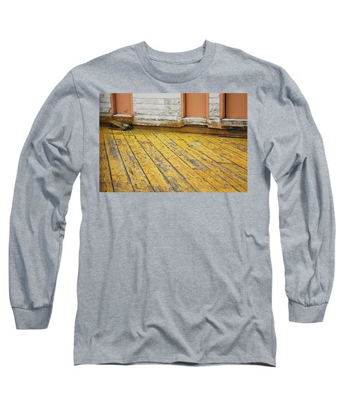 Weathered Monterey Building Long Sleeve T-Shirt