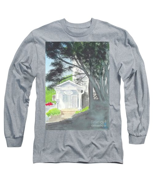 Long Sleeve T-Shirt featuring the painting Wellers Carriage House 1 by Yoshiko Mishina