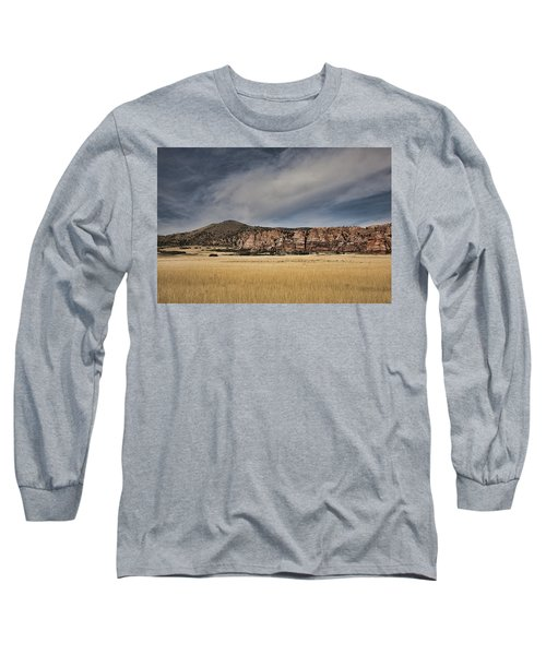 Long Sleeve T-Shirt featuring the photograph Wheatfield Zion National Park by Hugh Smith