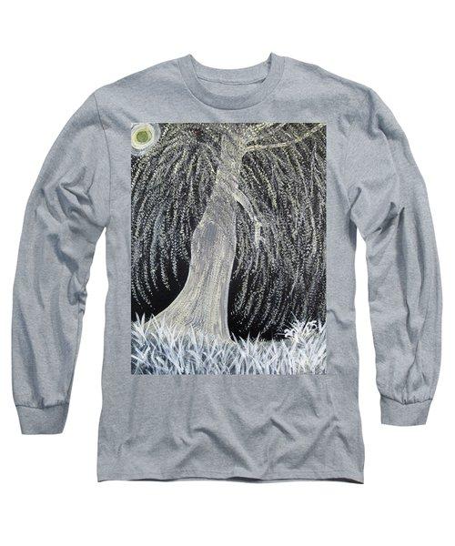 When Willows Weep Long Sleeve T-Shirt