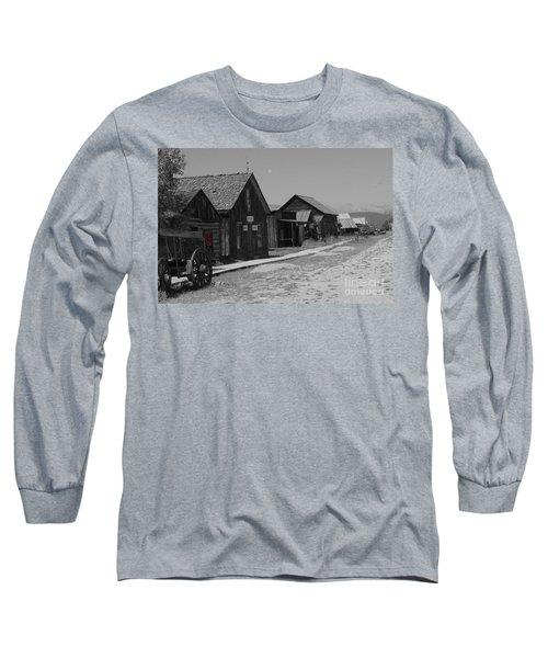 Long Sleeve T-Shirt featuring the photograph Wild Wild West by Deniece Platt