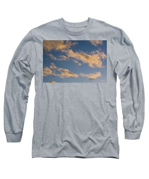 Wind Driven Clouds Long Sleeve T-Shirt by Mick Anderson