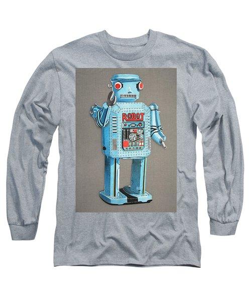 Wind-up Robot 2 Long Sleeve T-Shirt