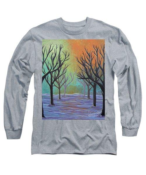 Winter Solitude 11 Long Sleeve T-Shirt