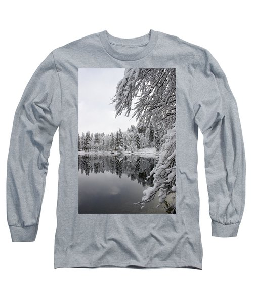 Wintery Reflections Long Sleeve T-Shirt