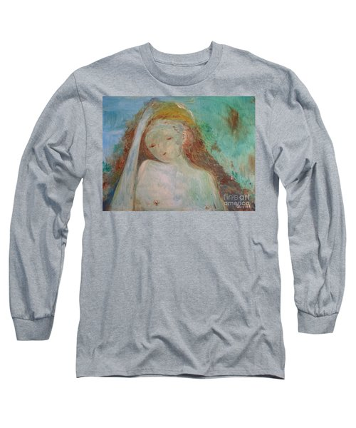 Woman Of Sorrows Long Sleeve T-Shirt by Laurie L