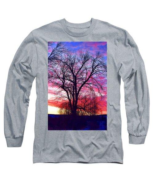 -11 Sunrise Long Sleeve T-Shirt by Dacia Doroff
