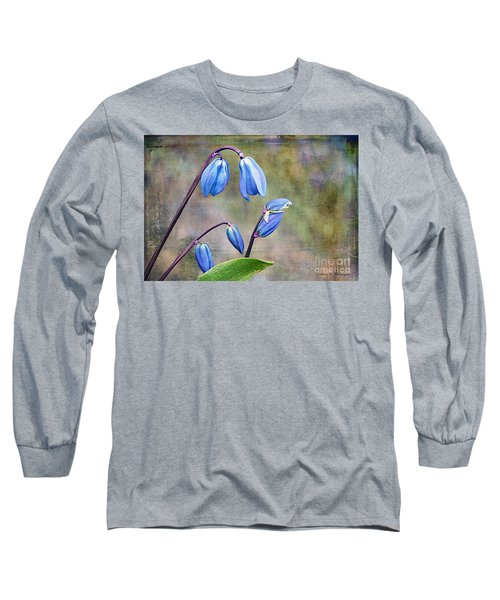 Bluebells And Beyond Long Sleeve T-Shirt by Nina Silver