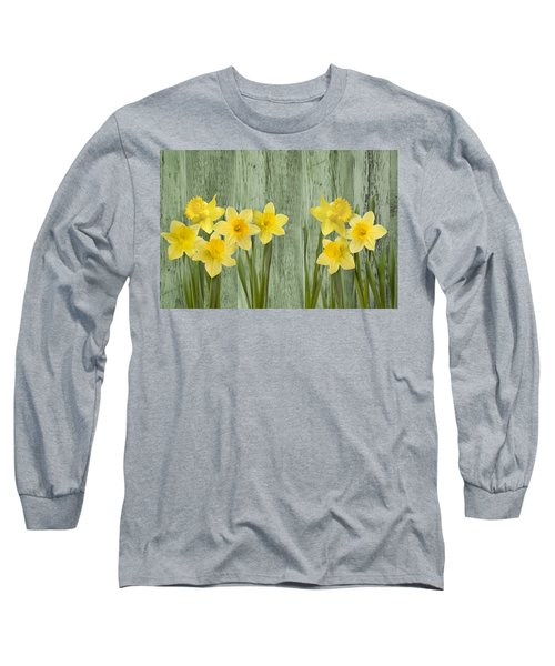 Fresh Spring Daffodils Long Sleeve T-Shirt