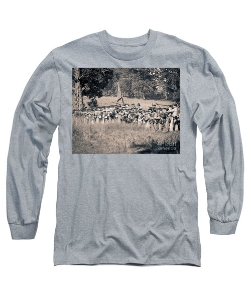 Gettysburg Confederate Infantry 9270s Long Sleeve T-Shirt