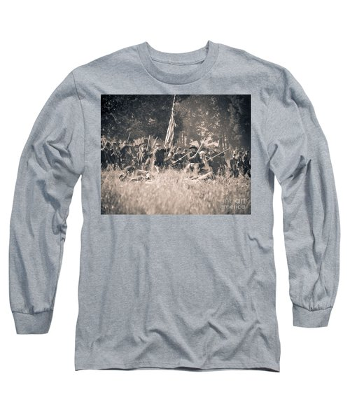 Gettysburg Union Infantry 9348s Long Sleeve T-Shirt