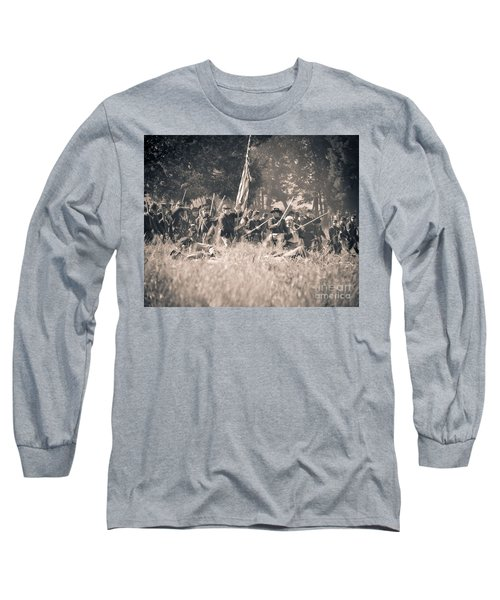 Gettysburg Union Infantry 9348s Long Sleeve T-Shirt