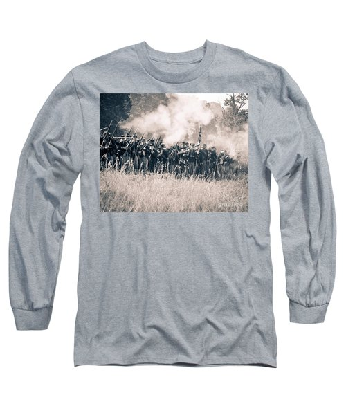Gettysburg Union Infantry 9360s Long Sleeve T-Shirt